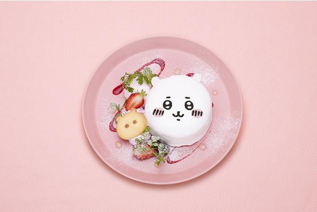ちいかわのお顔パンケーキ 1,400円(税込 1,540円)
