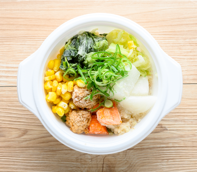 野菜を楽しむスープ食(まろやかほっこりごま豆乳)