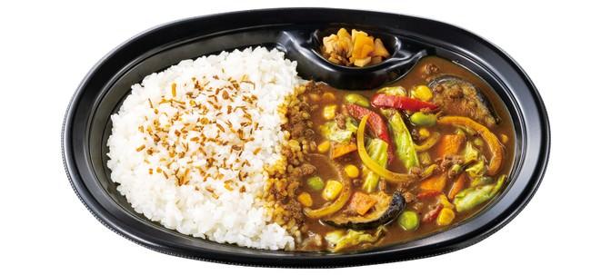野菜が摂れるスパイスカレー490円(税込)