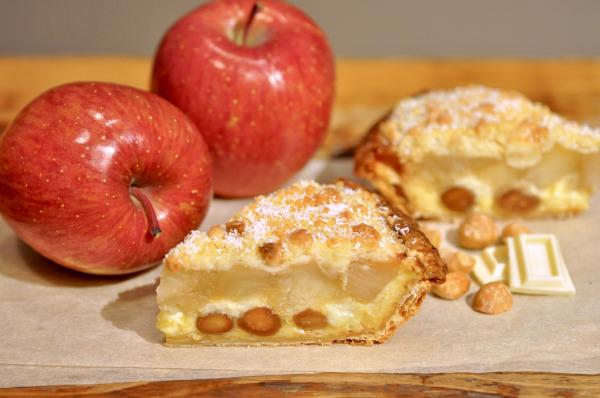 鈴木愛理 × Blue Vintage の新曲「Apple Pie」 とアップルパイ専門店「グラニースミス」がコラボ 『マカダミアナッツとホワイトチョコのアップルパイ』 4月17日(土)より限定発売
