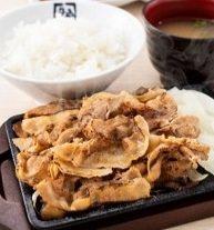 ■豚カルビ定食  790円(税込869円)