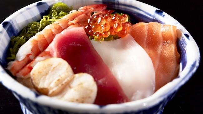 ふじ丸海鮮丼