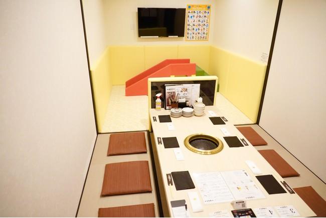 2021年新設キッズルーム付き個室(現在コロナ感染症対策の為、おもちゃ等はお出ししておりません)