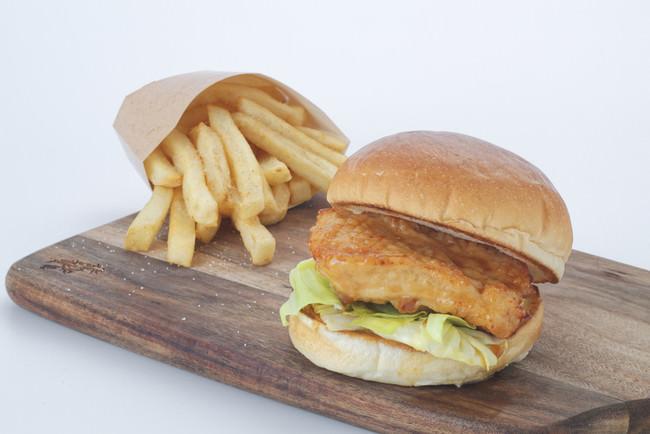 ◆鶏肉のレモン漬けバーガー 参考価格700円