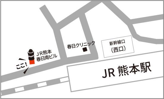 「鮨 酒 肴 杉玉 熊本駅前」マップ