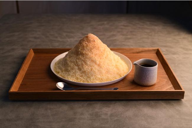 ミルクセーキかき氷黒蜜きなこ 税込980円