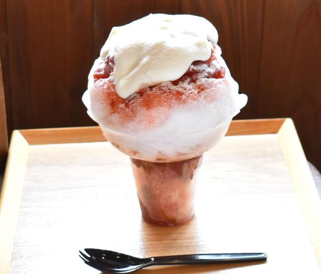 こめはなかき氷~いちご~テイクアウト900円