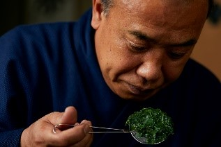 日本屈指の茶師 菊岡 勝