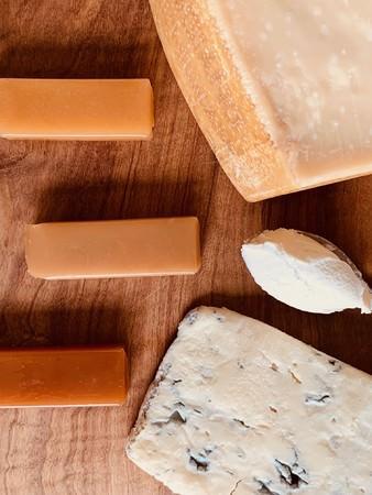 チーズ羊羹中身