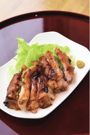 鶏もも肉のはちみつ味噌焼き(880円)/1日10食限定
