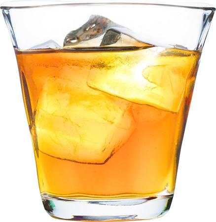 紀州南高梅の黒糖梅酒グラス(ストレート・ロック)