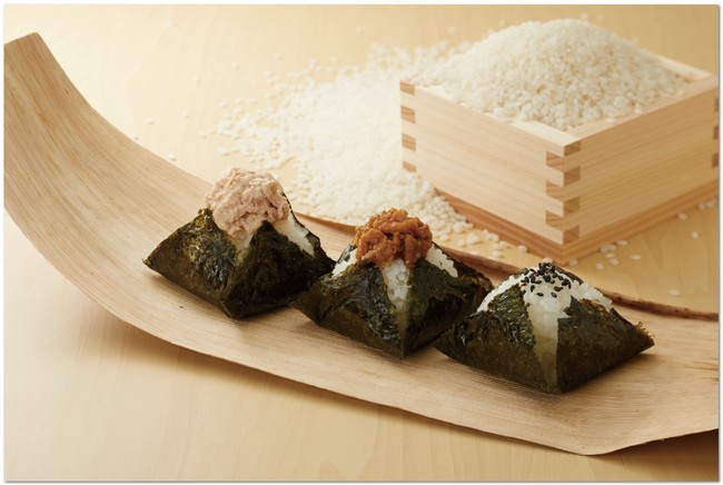 ミニおむすび(ツナマヨ・肉味噌・ごま塩)
