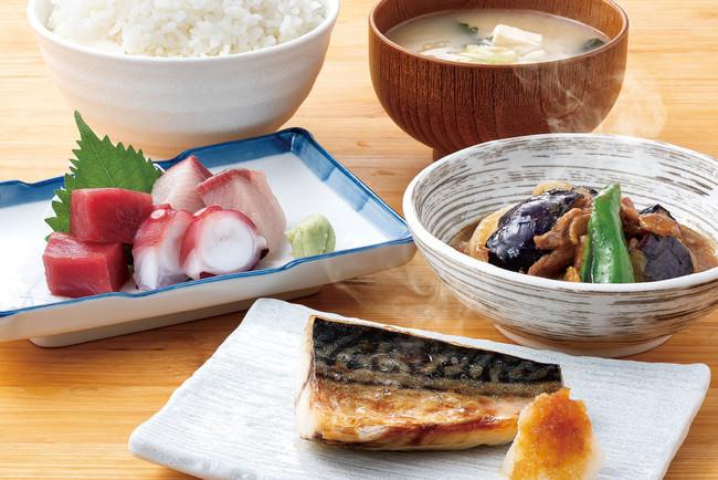 和食セットは美味しものが揃ってお得!