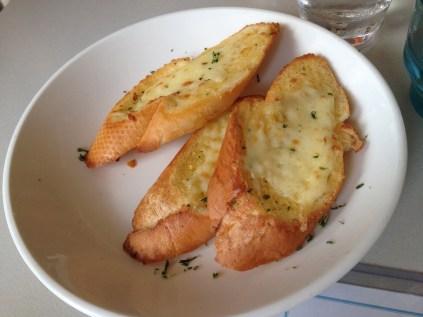 Cheesy Garlic Bread ($8)