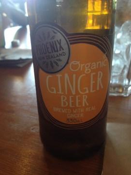 Phoenix Organic Ginger Beer ($4.00)