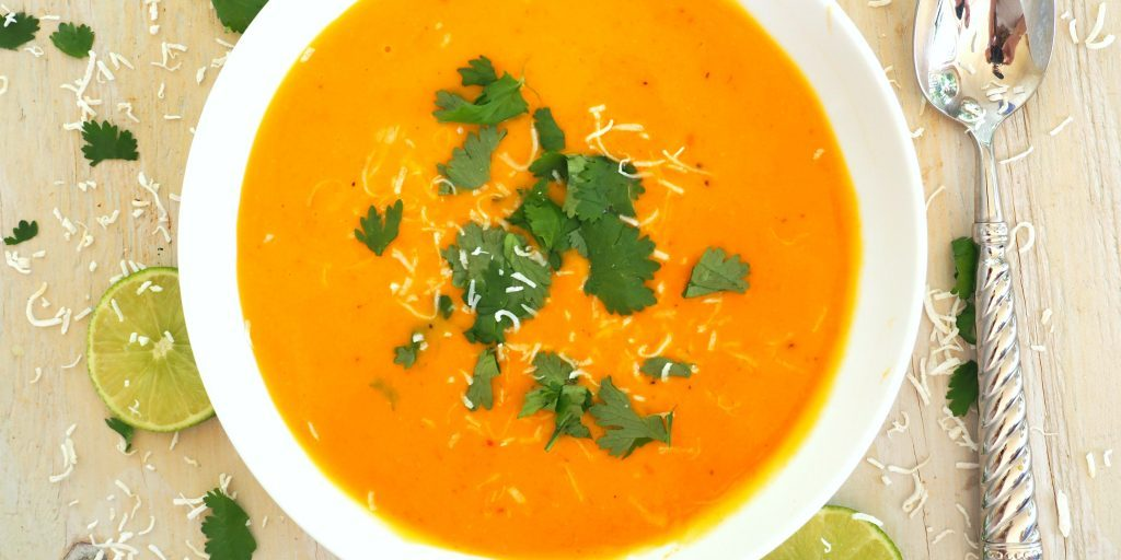 Sweet Potato Soup Everyday Gourmet With Blakely Easy Soup Recipes