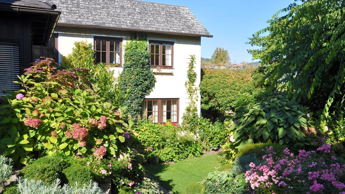 Landhaus Bacher: Blick auf das Gästehaus