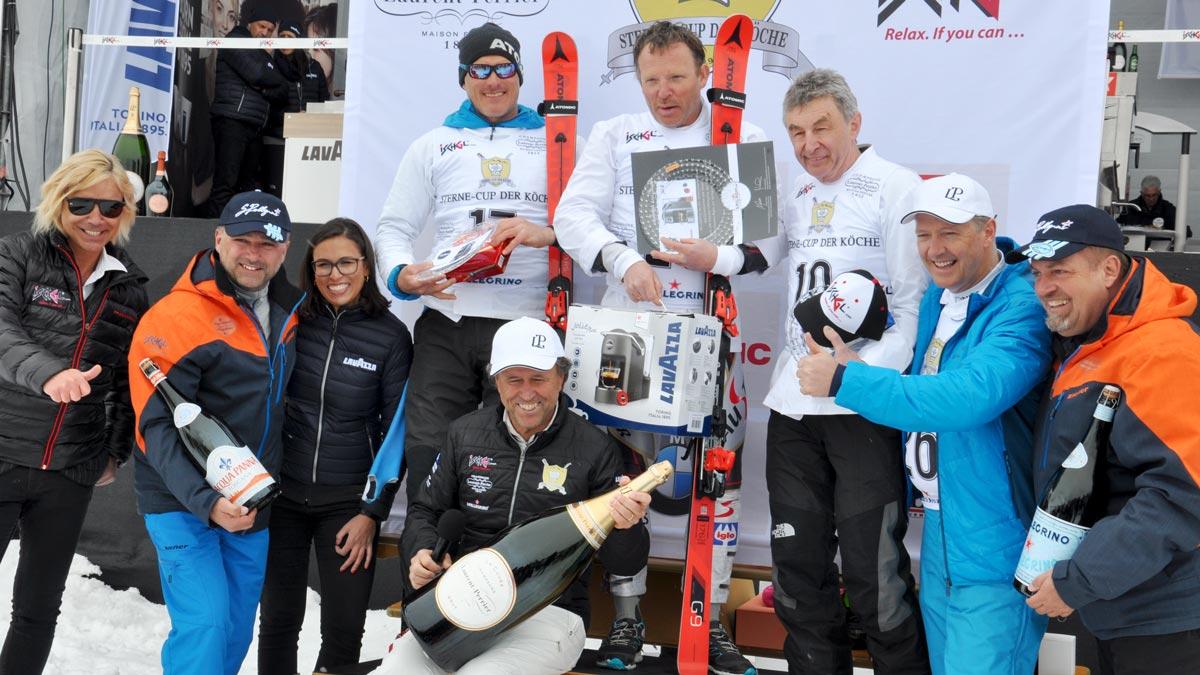Die Sieger in der Master- Class: Thomas Egger, Martin Schlegel, Hans Haas
