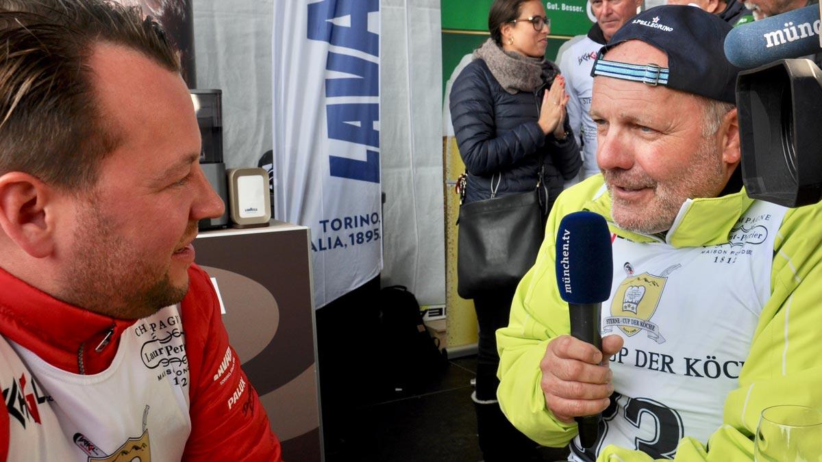 Gefragter Interview-Partner: Jan Hartwig, der neue 3-Sterne-Koch aus München (Bayerischer Hof)