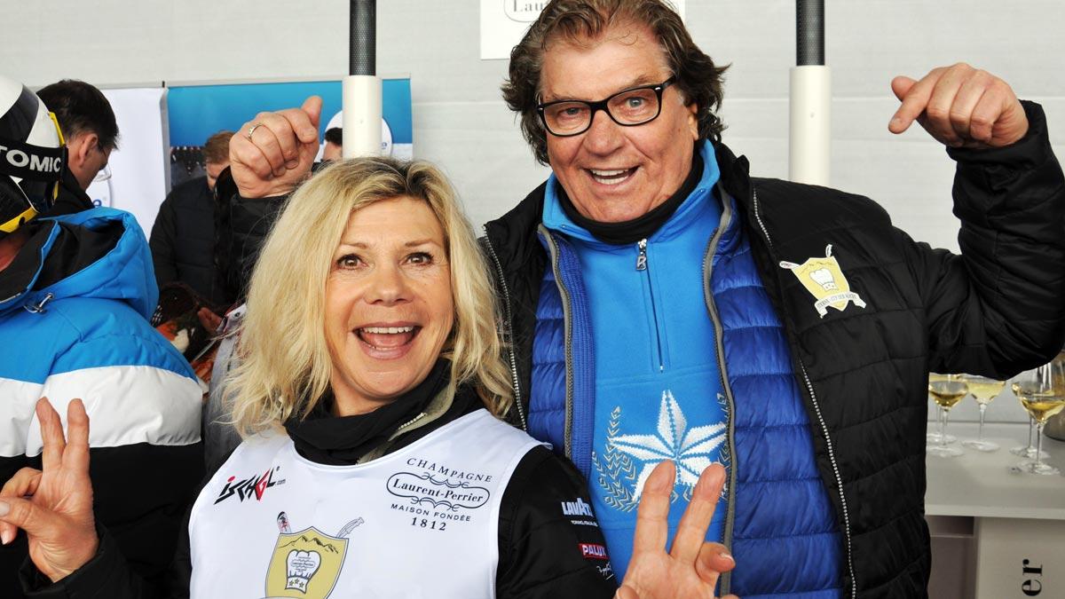 Promigäste aus München: Gesangsduo Marianne und Michael Hartl