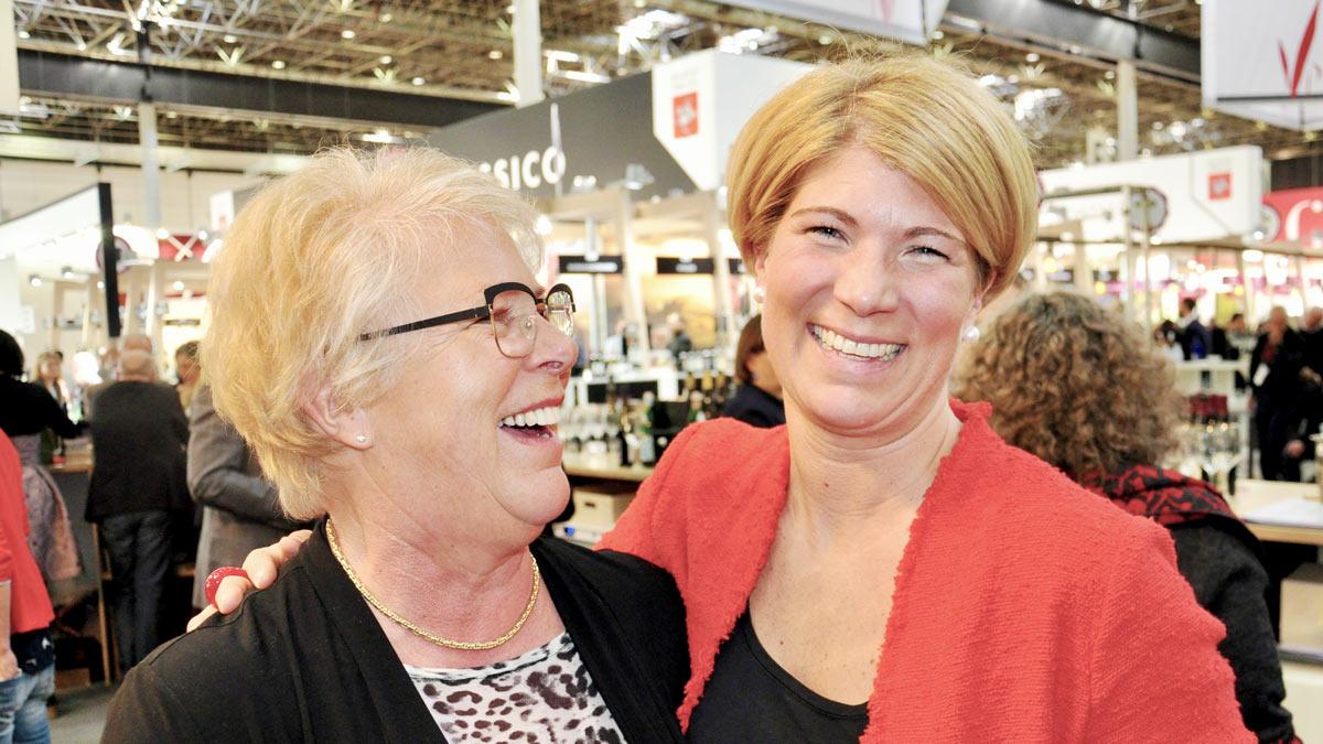 Winzerin Tina Pfaffmann, Mutter Monika, Frankweiler/Südpfalz