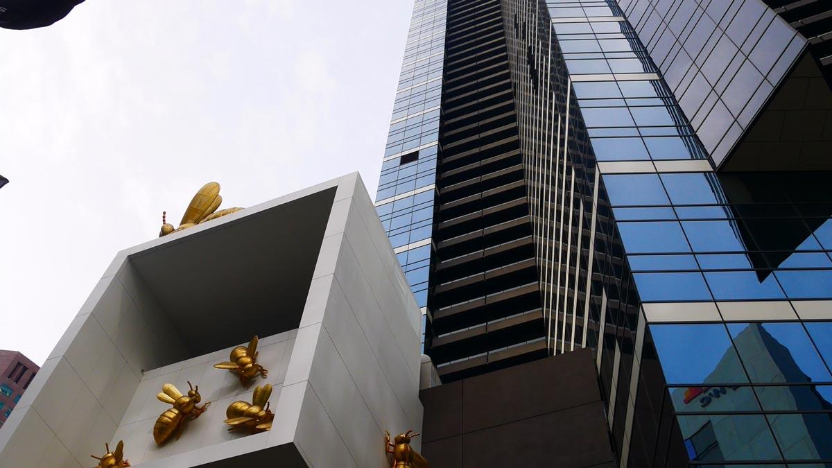 Wolkenkratzer in Melbourne