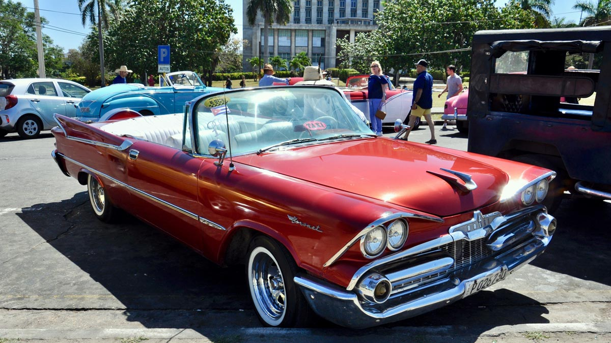 Der 1958 Dodge Coronet in voller Pracht