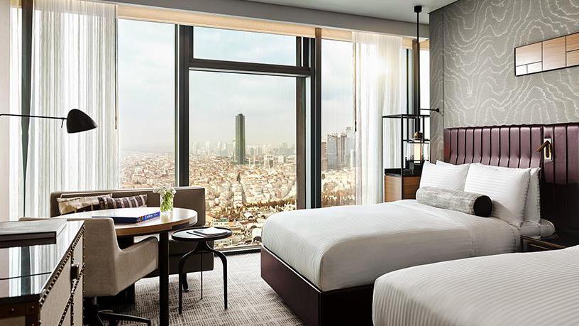 Fairmont: Blick über die Stadt auch von den Zimmern und Suiten. Foto Hotel Fairmont