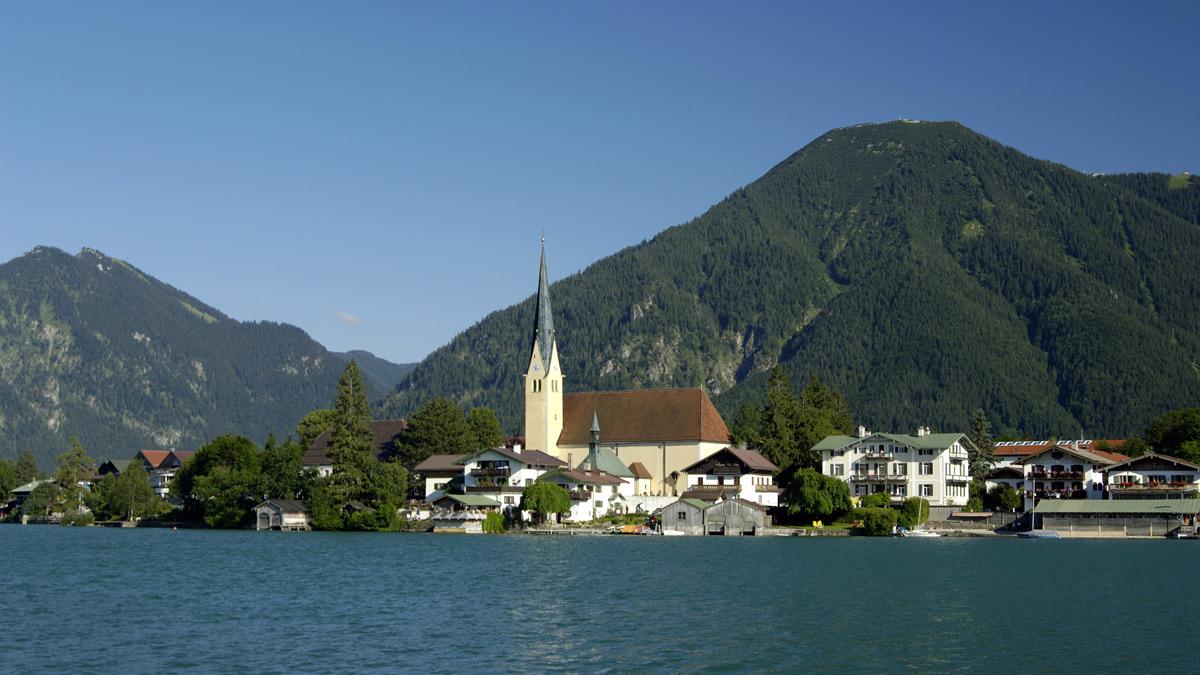 Der Tegernsee: Einer der schönsten Plätze in Bayern. Foto EH