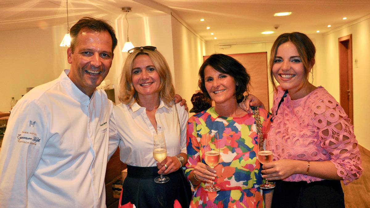 Küchenchef Thomas Kellermann und seine Familie. Foto WR