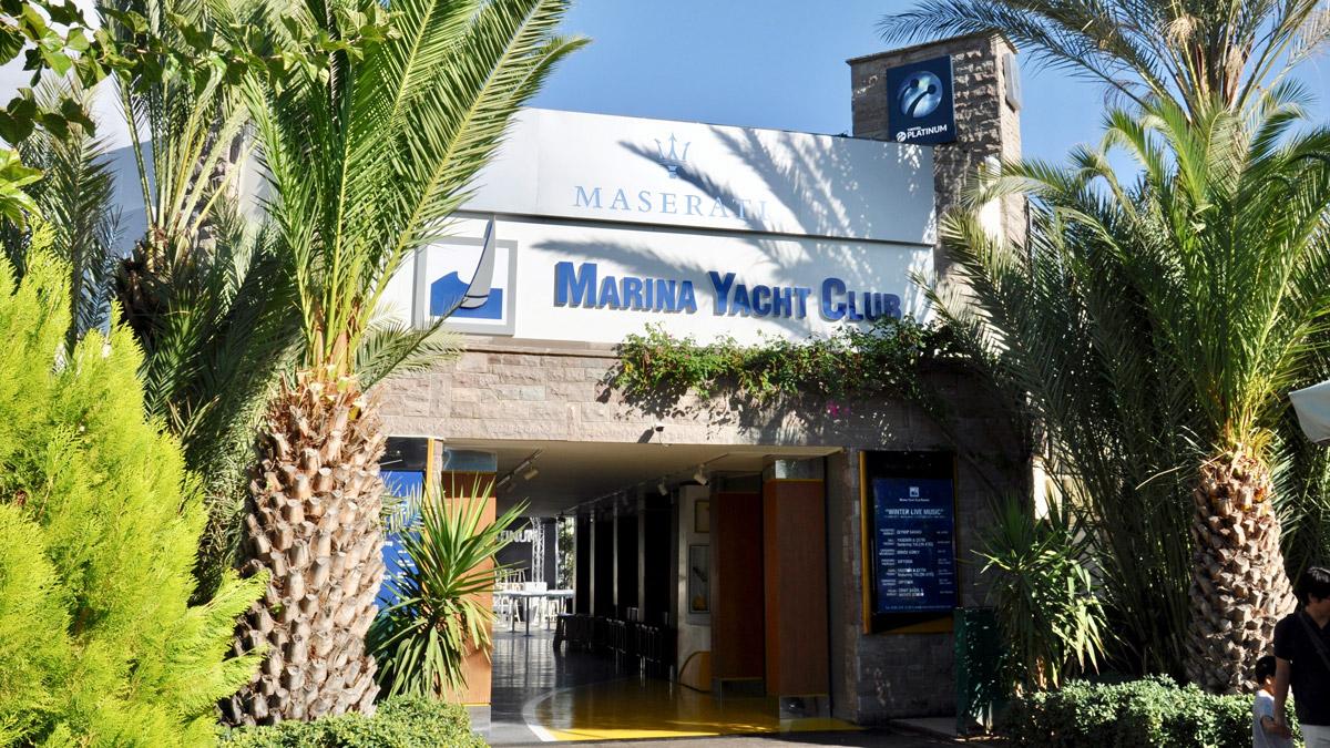 Dine & Dance im Maserati Marina Yachtclub. Foto WR