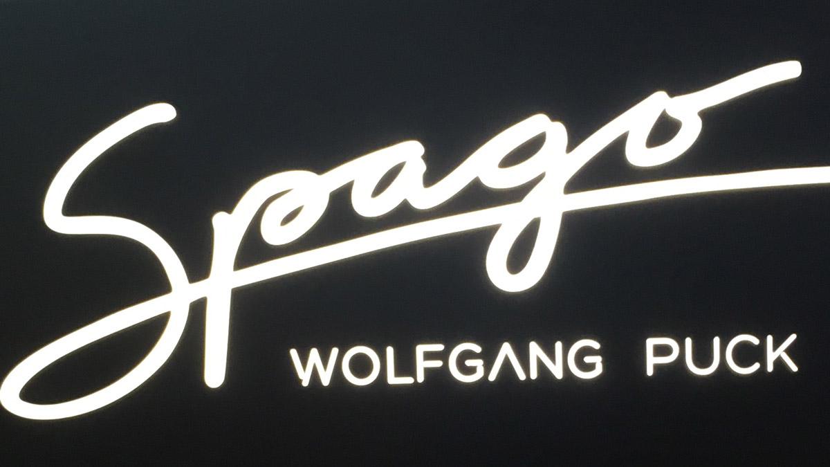 Auch Wolfgang Puck ist mit seinem Spago in Vegas präsent. Foto JW