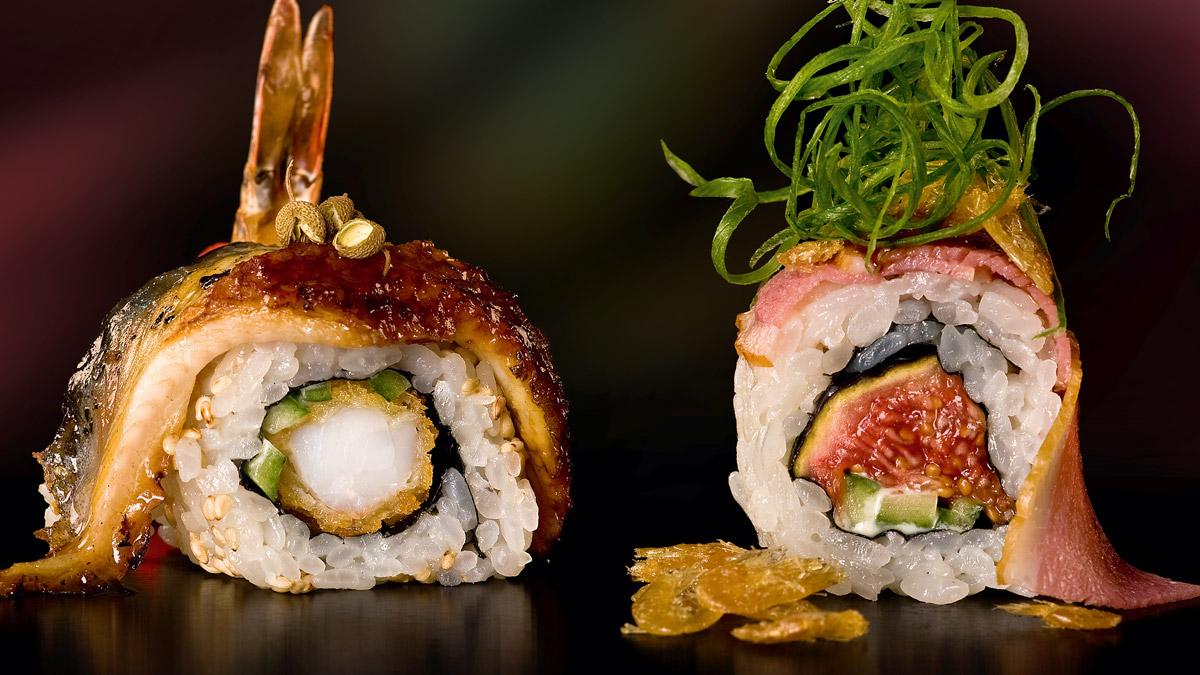 Zenzakan: Sushi in allen Variationen. Foto Mook