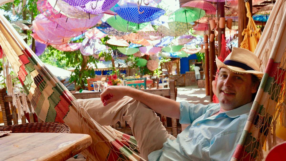 Ambiente wie bei Alice im Wunderland: das Restaurant Preta