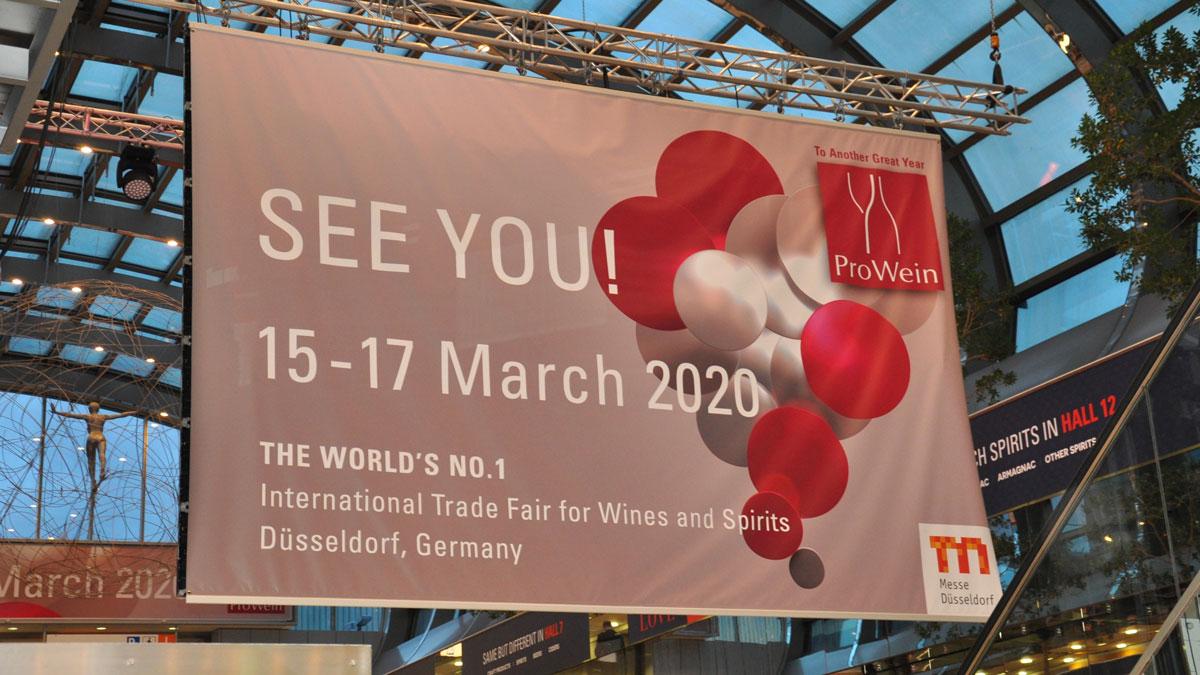 ProWein 2020: Man sieht sich…. Foto WR