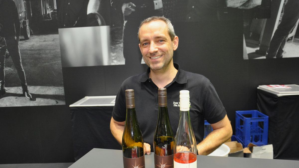 Frank Spiegel, Weingut Kellermann-Spiegel: Seine Weine Weine haben durchgehend Klasse. Foto WR