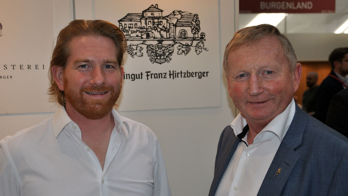 Franz Hirtzberger, Senior und Junior: Ihre Weine gehören zu den absoluten Spitzen der Wachau. Foto WR