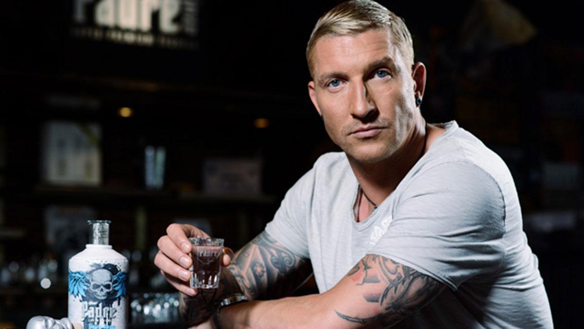 Handball-Star Stefan Kretzschmar, Repräsentant des Edel-Tequilas Padre Azul. Foto Mack & Schüle