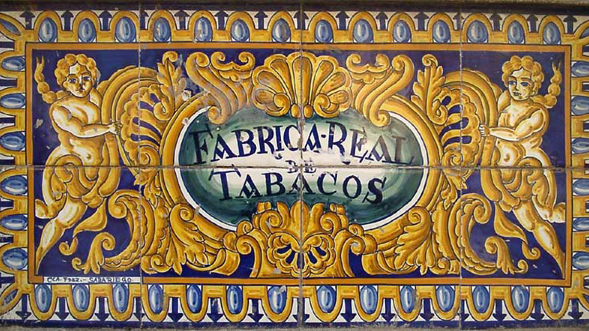 """Fabrica Real de Tabacos: Der """"Arbeitsplatz"""" von Carmen. Wer kennt die Oper nicht…."""
