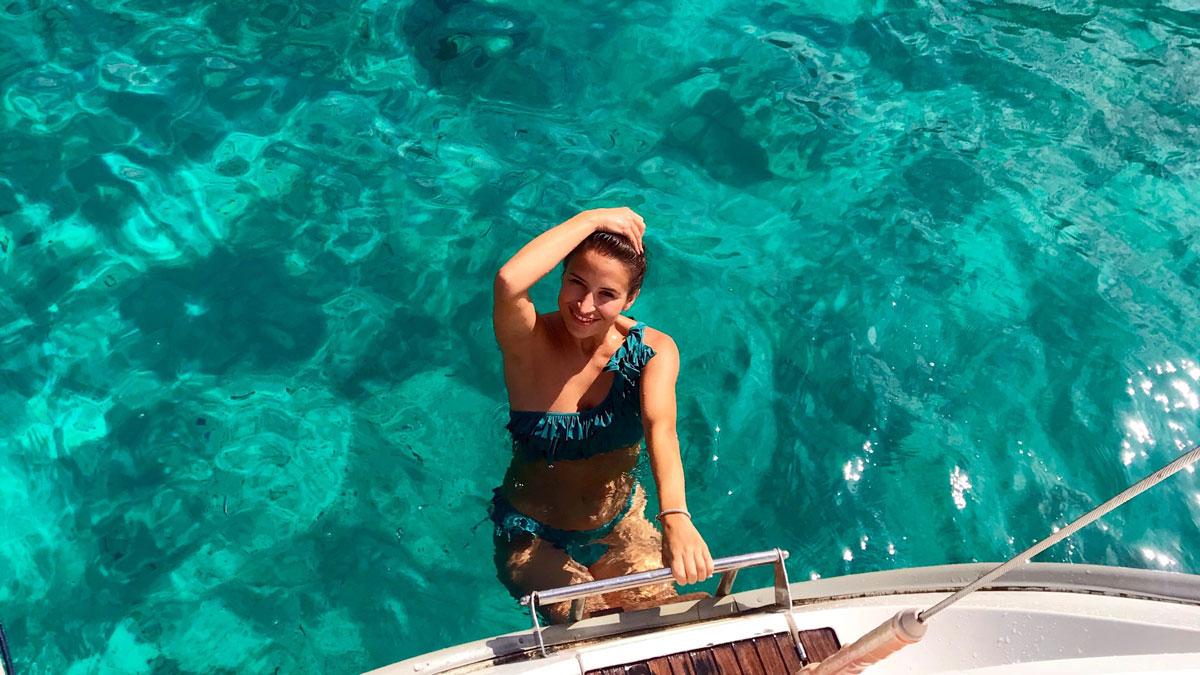 Menorca hat die meisten Blautöne der Balearen. Foto Inna Hemme