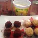 Boules d'énergies Coco Cacao Sésame