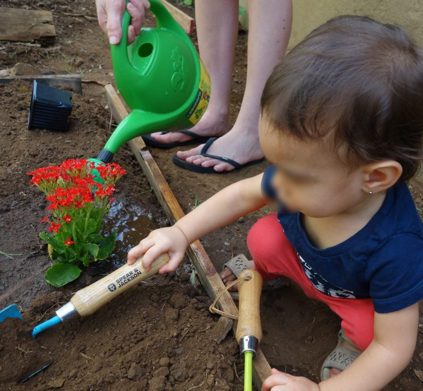 atelier jardinage avec les tout-petits