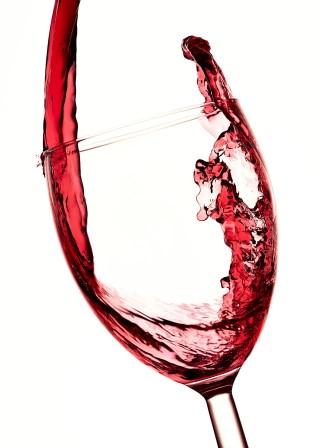 verre design pour dégustation de vin