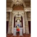 Declaraţii susținute de premierul Dacian Cioloş în contextul întâlnirii cu președintele Republicii Franceze,(...)