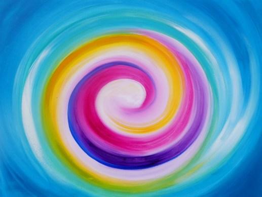 Acrylmalerei von Christine Gova. Acrylbilder die Herz und Seele