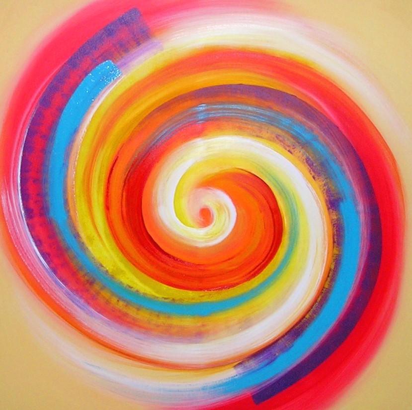 Acrylbild von Christine Gova