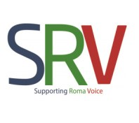 supporting roma voice logo