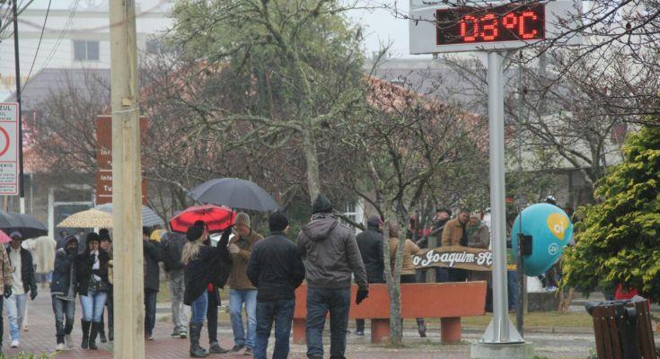 Inmet: chuva e frio devem atingir maior parte do país até domingo