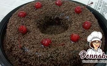 Receita de Brigadeirão de Chocolate