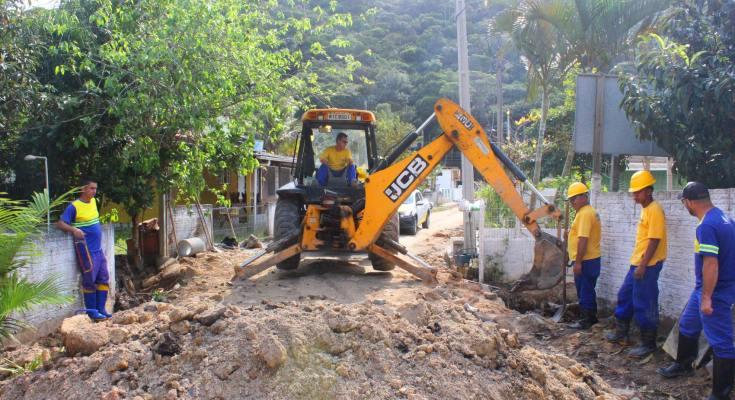 Cidade de Governador Celso Ramos as obras continuam a todo vapor!